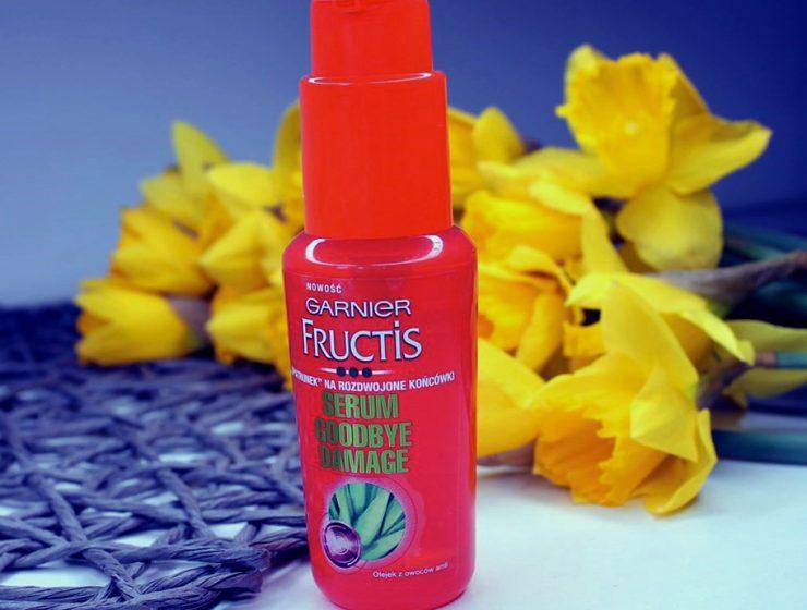 olejek do włosów fructis