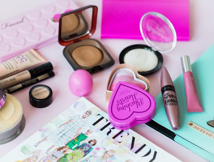 kreatywne zastosowanie kosmetyków