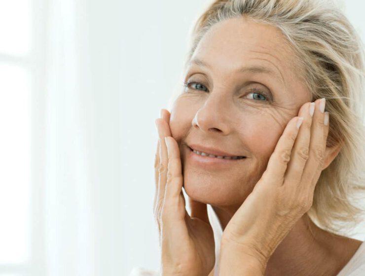 wpływ menopauzy na skórę