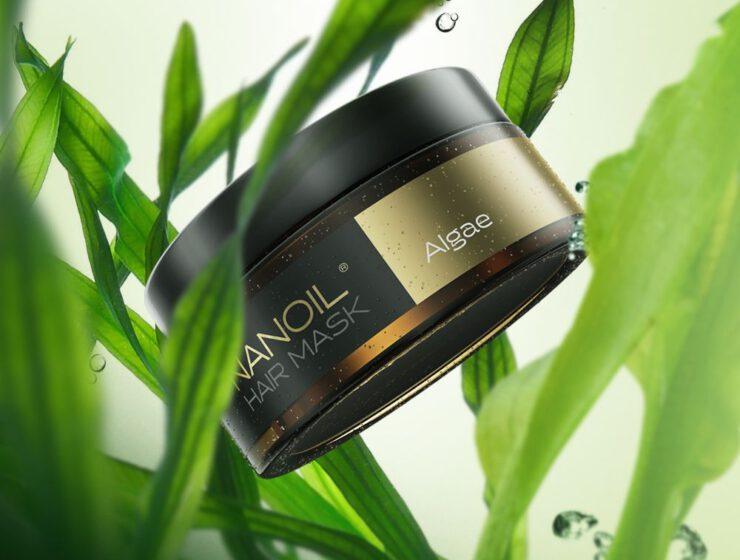 nanoil algi morskie maska na włosy