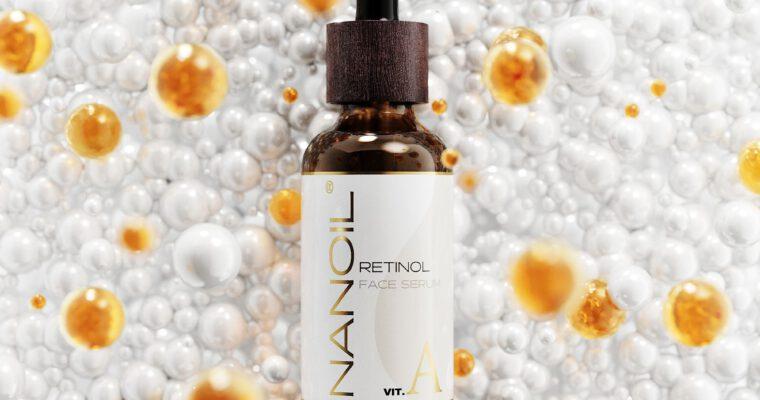 nanoil retinol rozjaśniające serum do twarzy